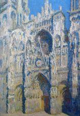 Rouen Katedrali, Güneşte Portal ve Albane Kulesi, 1893