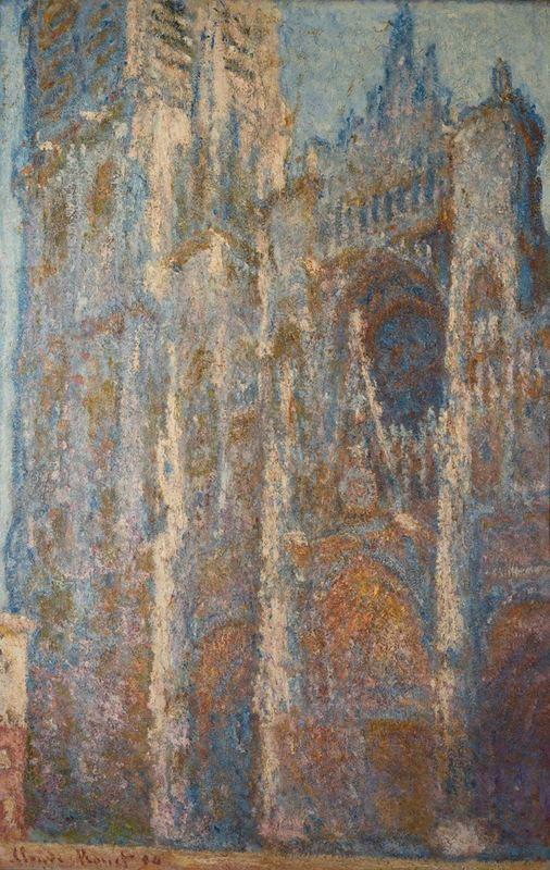 Rouen Katedrali, Öğlen, 1894 resmi