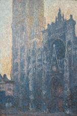 Rouen Katedrali, Portal ve Albane Kulesi (Sabah Etkisi), 1894