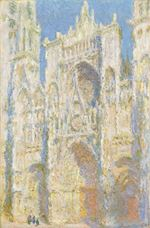 Show Rouen Cathedral, West Façade, Sunlight, 1894  details