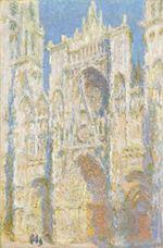 Rouen Katedrali, Batı Cephe, Güneş Işığı, 1894