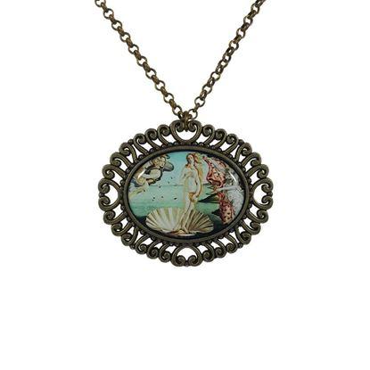 Botticelli - Venüs'ün Doğuşu - Kolye