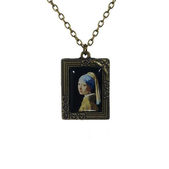 Vermeer - İnci Küpeli Kız - Kolye