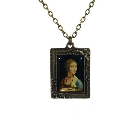 Da Vinci - Erminli Kadın - Kolye