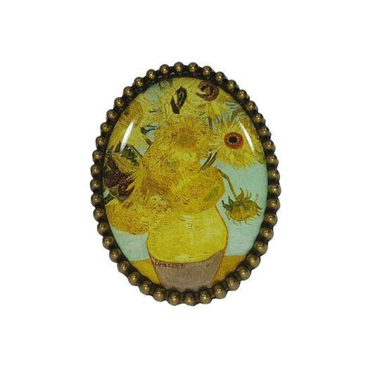 Van Gogh - Ayçiçekleri - Yüzük