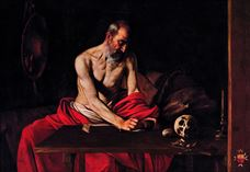 Show Saint Jerome Writing, 1607 details