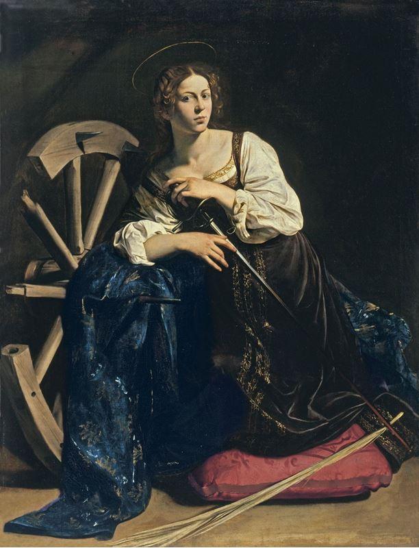 Azize İskenderiyeli Katherina, 1598-1599 resmi