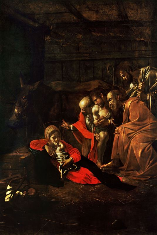 Çobanların Tapınması, 1609 resmi