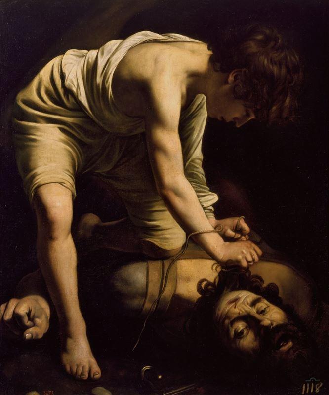 Davud Golyat'ın Kafası İle, 1600 dolayları resmi
