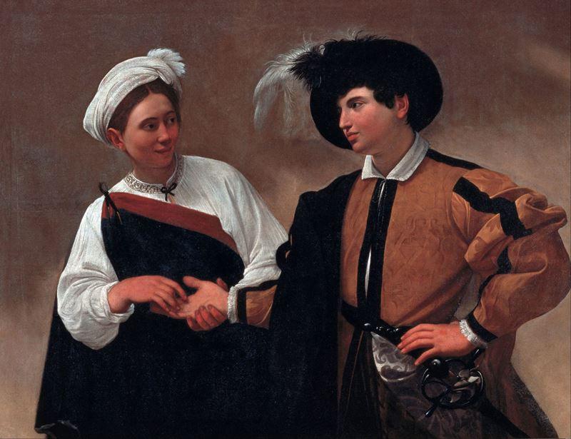 Falcı, 1595 resmi