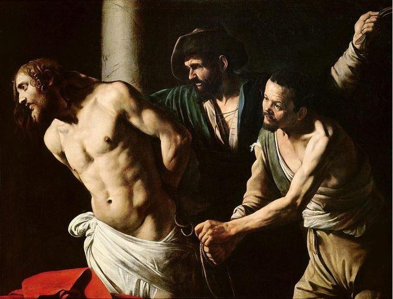 İsa'nın Kırbaçlanması, 1606 resmi