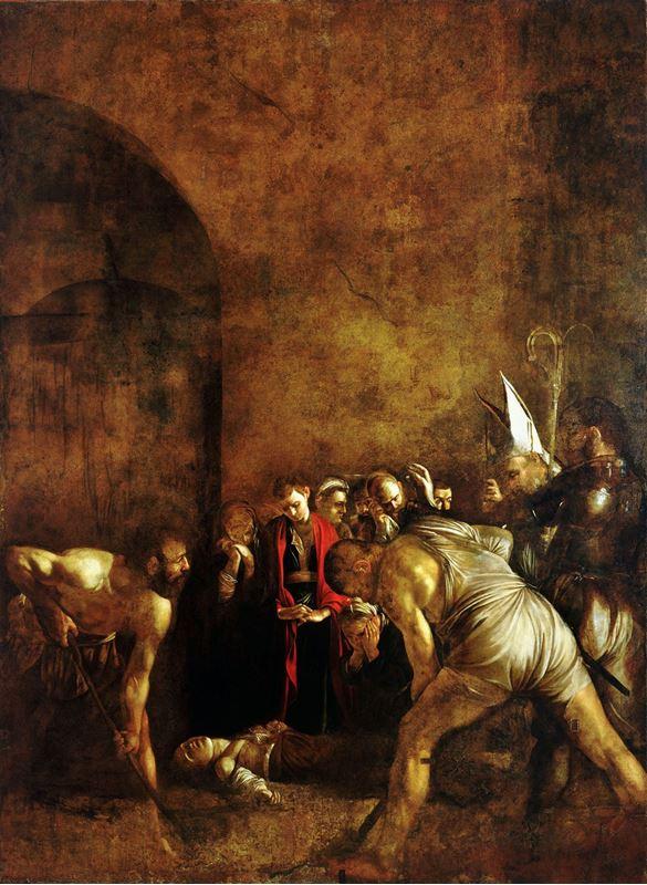Azize Lucia'nın Gömülmesi, 1608 resmi