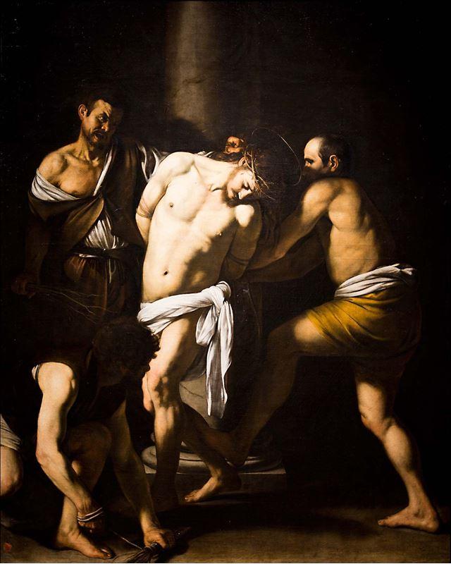 İsa'nın Kırbaçlanması, 1607 resmi