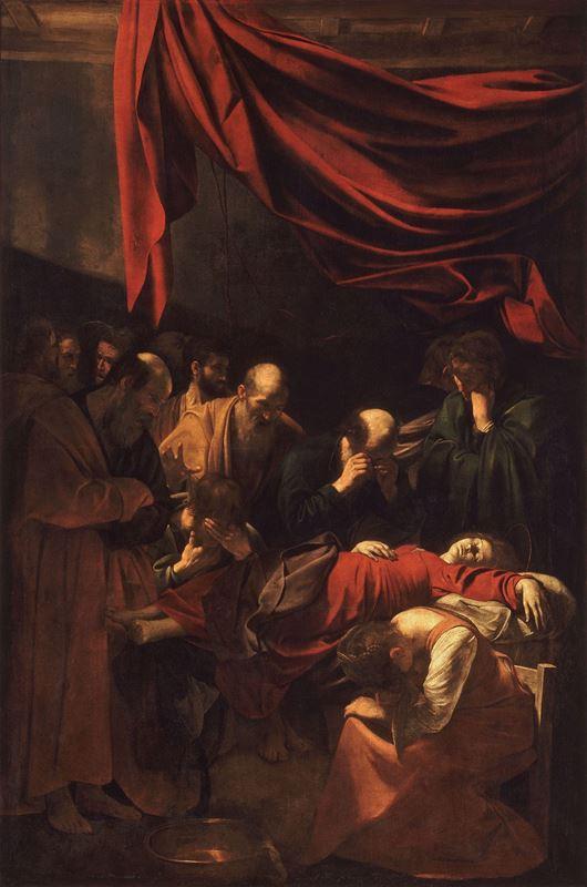 Meryem'in Ölümü, 1605-1606 resmi