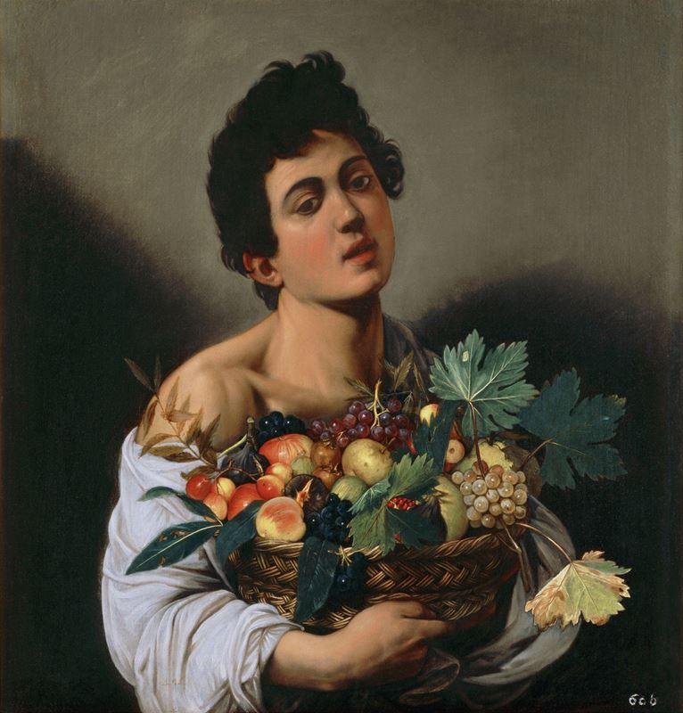 Meyve Sepetli Çocuk, 1593-1594 resmi