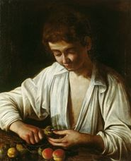 Show Boy Peeling Fruit 1592-1593 details