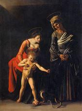 Palafrenieri Madonnası, 1605-1606