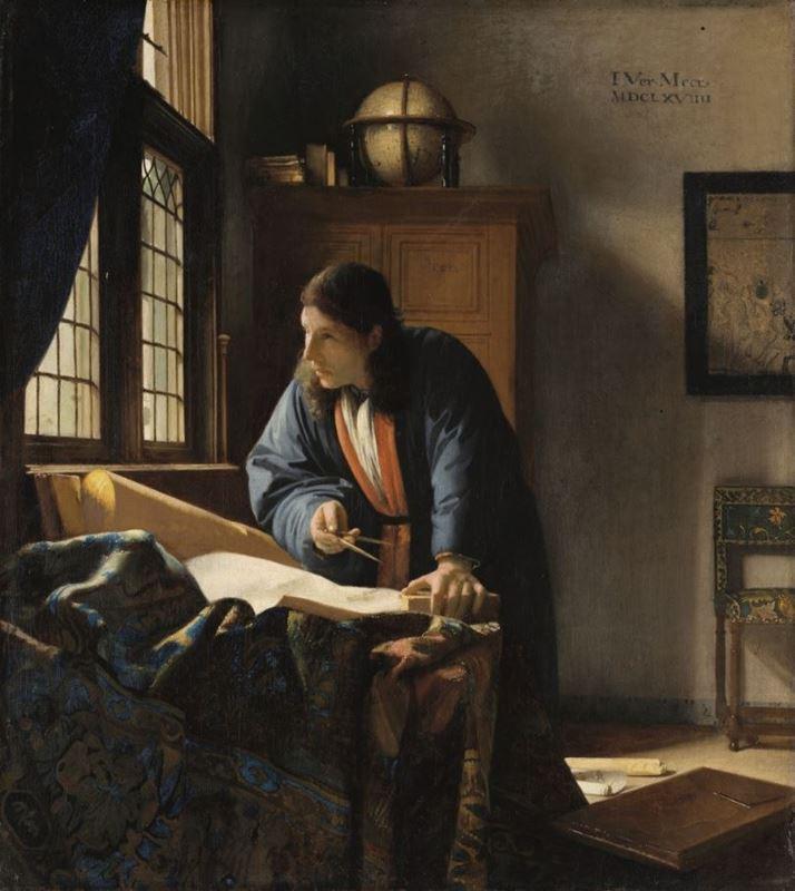 Coğrafyacı, 1669 resmi
