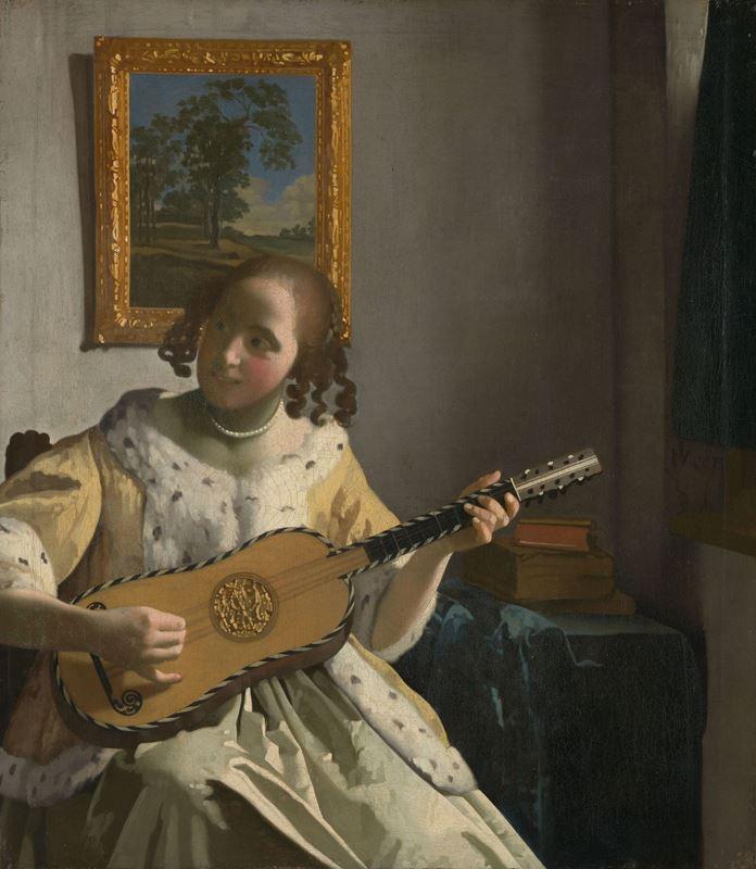 Gitar Sanatçısı, 1672 dolayları resmi