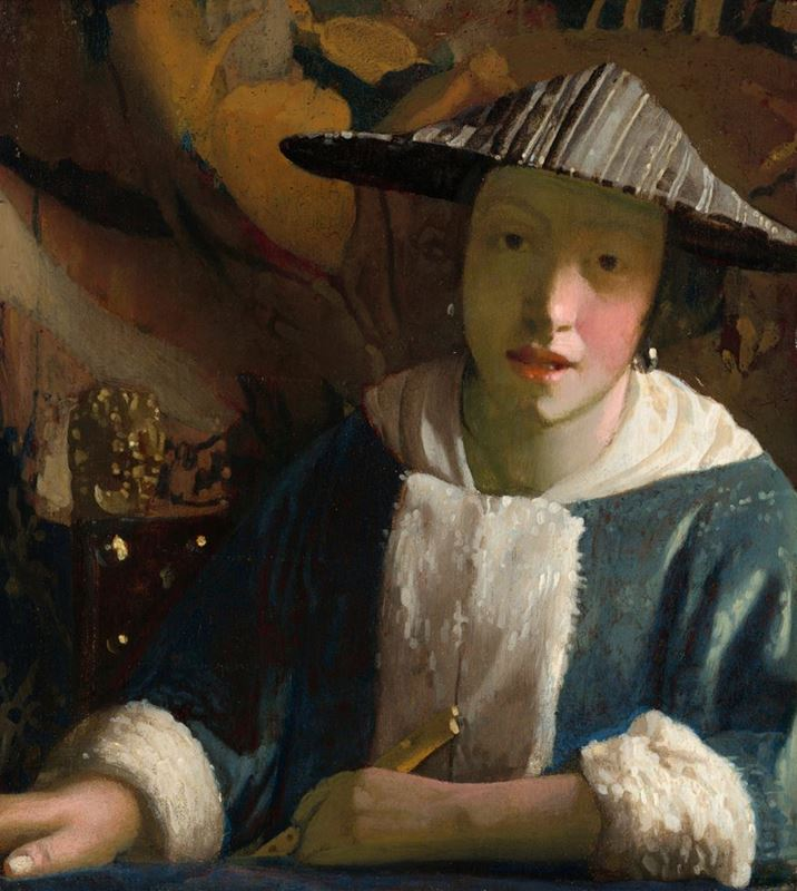 Picture for Girl with a Flute, 1665-1675