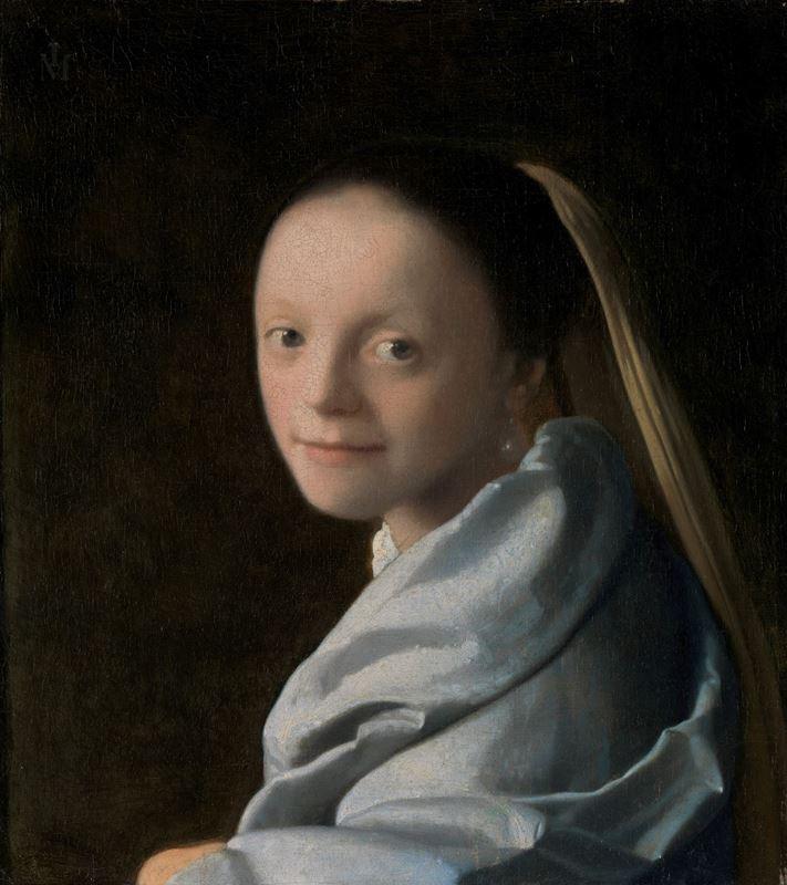 Genç Kadın Çalışması, 1665-1667 resmi
