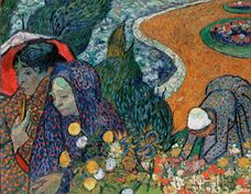 Show Memory of the Garden at Etten (Ladies of Arles), 1888 details