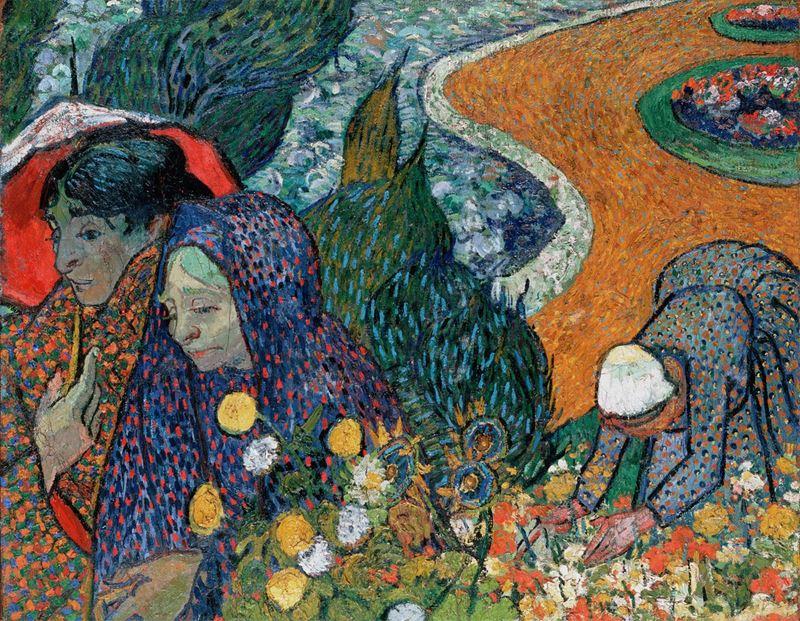 Cennet Bahçesinin Anıları (Arleslı Kadınlar), 1888 resmi