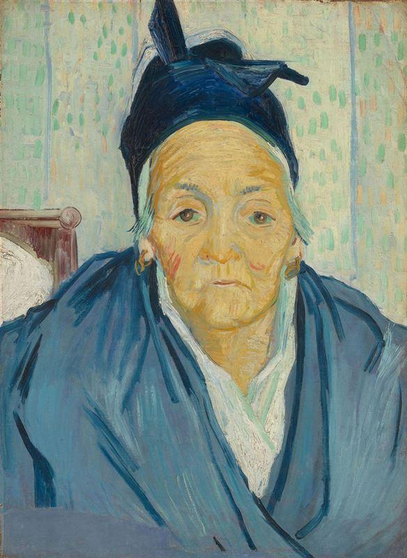 Arleslı Yaşlı Kadın, 1888 resmi