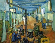 Show Ward in the Hospital in Arles, 1889 details