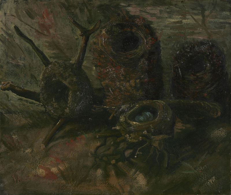 Kuş Yuvası, 1885 resmi