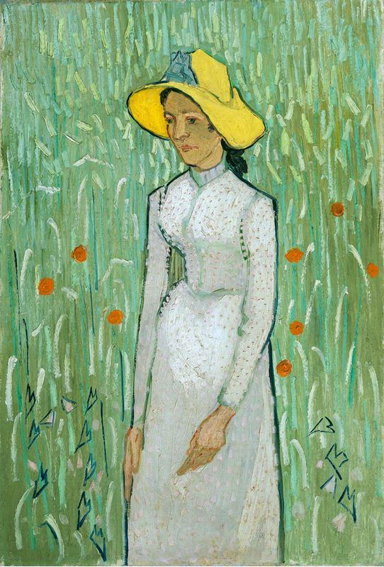 Beyazlı Kız, 1890 resmi