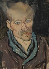 Show Portrait of a Patient in Saint-Paul Hospital, 1889 details