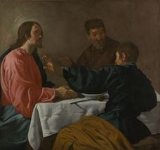 Show The Supper at Emmaus, 1622-1623 details