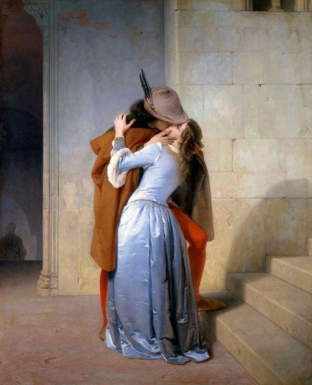Francesco Hayez, Öpücük, 1859 picture