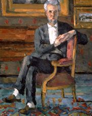 Oturan Victor Chocquet, 1877 dolayları