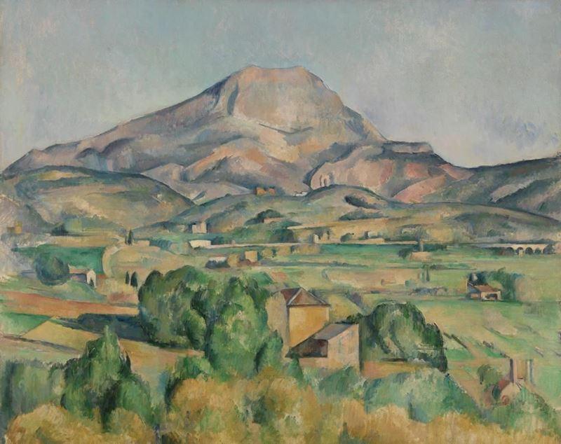 Picture for Mont Sainte-Victoire, 1892-1895