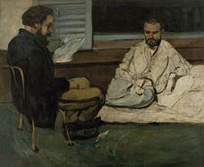 Paul Alexis, Emile Zola'ya Kitap Okuyor, 1869-1870