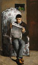 Sanatçının Babası, L'Événement Okurken, 1866