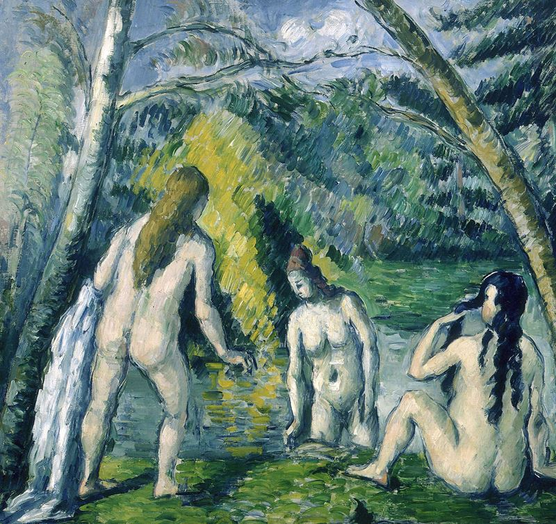 Picture for Three Bathers, 1879-1882