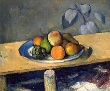 Elma, Şeftali, Armut ve Üzüm, 1879-1880 dolayları