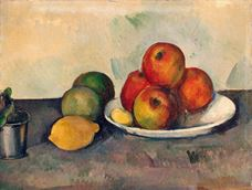 Show Still Life with Apples, c. 1890 details