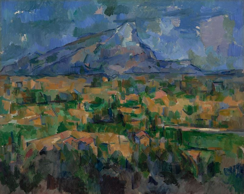 Picture for Mont Sainte-Victoire, 1902-1904