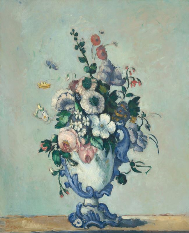 Picture for Flowers in a Rococo Vase, c. 1876