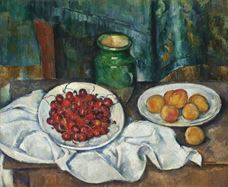 Show Still Life With Cherries And Peaches, 1885-1887 details