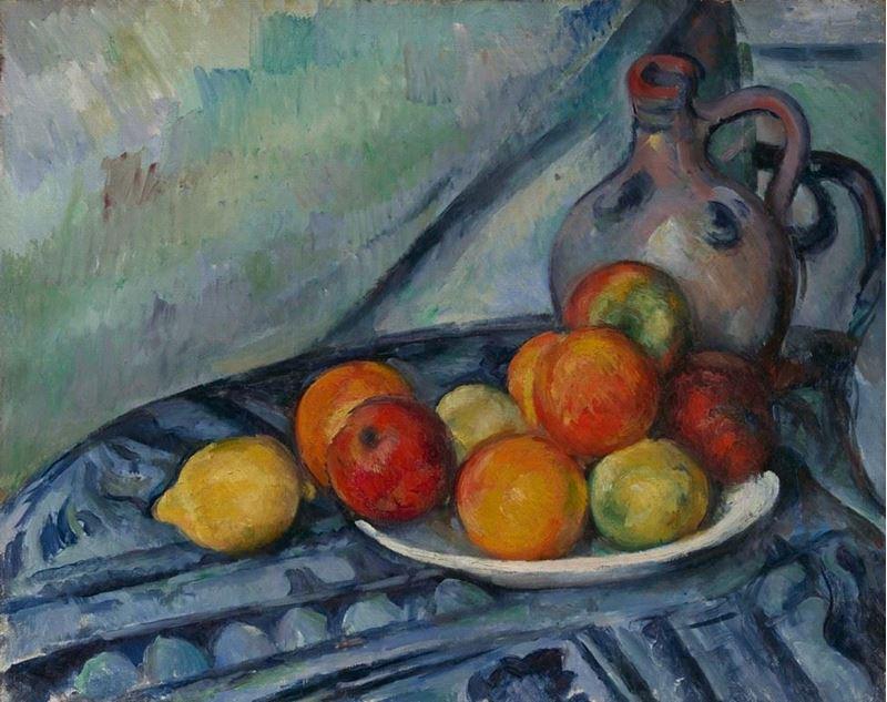Masada Meyve ve Sürahi, 1890-1894 resmi