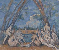 Show The Large Bathers, 1900-1906 details