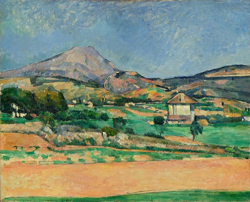 Picture for Mont Sainte-Victoire, 1882-1885