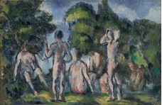 Show Group of Bathers, c. 1895 details