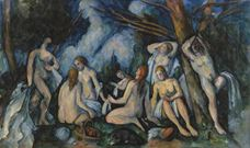 Show The Large Bathers, 1895-1906 details