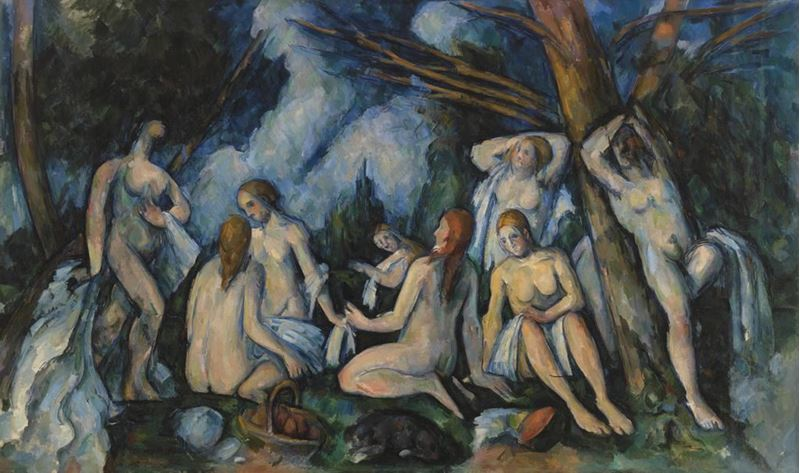 Picture for The Large Bathers, 1895-1906